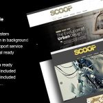 Scoop - A Magazine Theme For WordPress 1.4