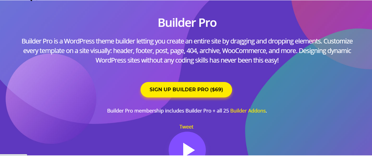 Themify Builder Pro + Themify Builder + 25 Add-Ons 2.0.7