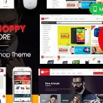 ShoppyStore - Multipurpose Responsive WooCommerce WordPress Theme v3.6.4 Nulled