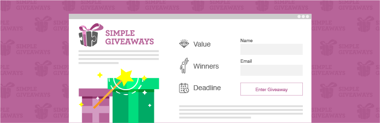 Simple Giveaways (Premium) - Create Beautiful Giveaways and Grow Your Email List v2.33.0