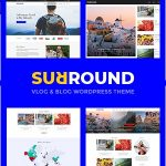 Surround - Vlog & Blog WordPress Theme v1.0.6