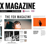 The Fox - Minimal Blog/Magazine Theme For Creators v4.6.3