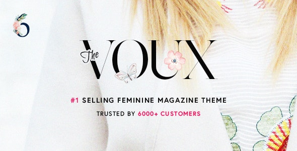 The Voux - A Comprehensive Magazine WordPress Theme v6.7.2 Nulled