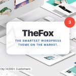 TheFox | Responsive Multi-Purpose WordPress Theme v3.9.9.9.7 Nulled