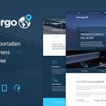 Transcargo - Transportation WordPress Theme for Logistics v2.4