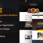 Trucking - Logistics and Transportation WordPress Theme v1.18