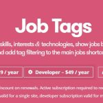 WP Job Manager Job Tags Add-on v1.4.1