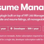 WP Job Manager Resume Manager Add-on v1.18.1