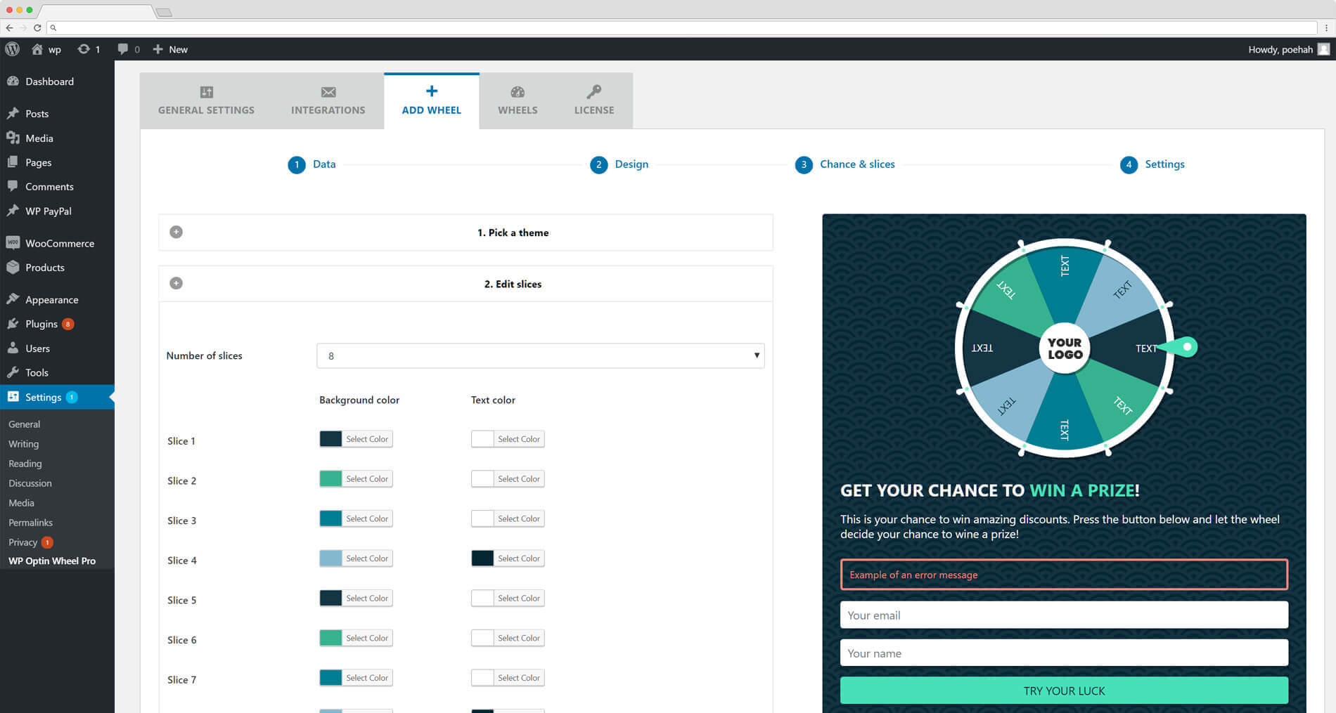 WP Optin Wheel - Gamified Popup To Grab Your Visitor's Email v3.4.2