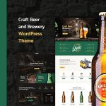 Weisber - Craft Beer & Brewery WordPress Theme v1.1.6