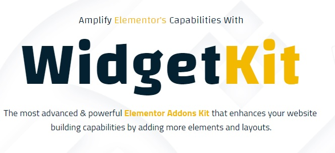 WidgetKit Pro - Huge Collection of Pro Quality Element For Elementor v1.8.3