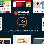 eMarket - Multi Vendor MarketPlace WordPress Theme v4.1.0 Nulled