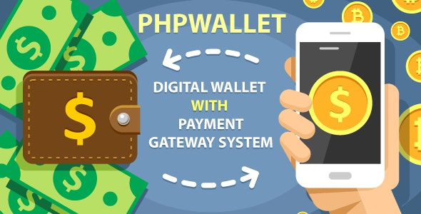 phpWallet - E-Wallet and Online Payment Gateway System v3.5
