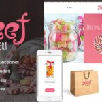 Sweet Dessert | Sweet Shop & Cafe WordPress Theme v1.1.4