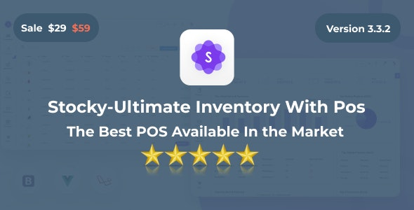 Stocky - Ultimate Inventory Management System with Pos v3.3.1